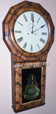 Seth Thomas No. 1 Extra in Light Rosewood ~ Time & Strike Model ~ Antique Clocks Guy
