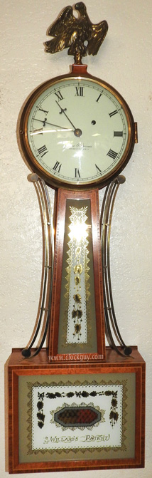 "Elmer O. Stennes ""Willard"" Banjo ~ Antique Clocks Guy"