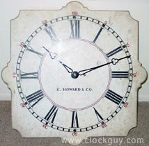 Howard Regulator No. 20 in Marble - Antique Clocks Guy