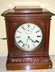 "Seth Thomas ""Hotel"" c.1888 in Walnut ~ Antique Clocks Guy"