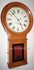 E. Howard Regulator No. 70 in Mahogany, c. 1900 ~ Antique Clocks Guy