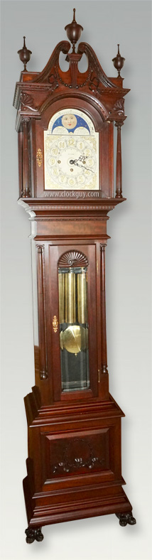 "Seth Thomas ""Chime No. 2274"" in Mahogany with Sonora Chime Movement ~ Antique Clocks Guy"