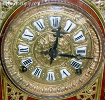 "FOR SALE: Ansonia ""Cabinet Antique"" in Oal, c.1894 ~ Antique Clocks Guy"