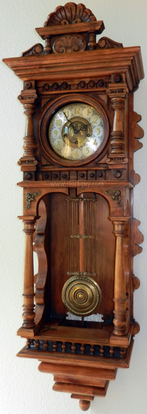 "Gazo ""La Mesa"" - early model with Pelican dial ~ Antique Clocks Guy"