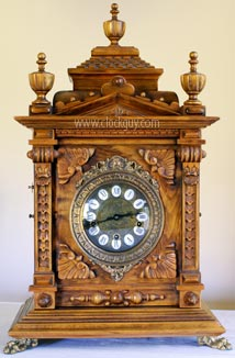 Gazo Mission Bay (newer configuration) - Antique Clocks Guy