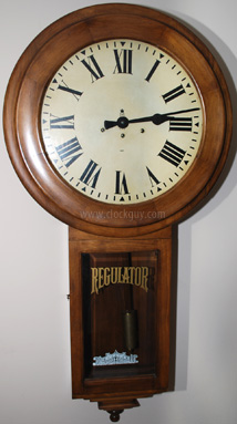 Click to compare early and later Gazo Old Town models ~ Antique Clocks Guy
