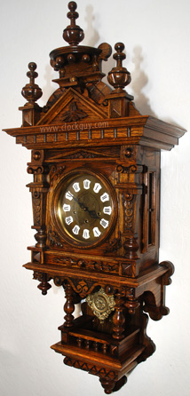 Gazo Ramona in Oak ~ Antique Clocks Guy