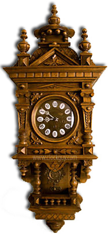 Gazo Ramona in Alder ~ Antique Clocks Guy