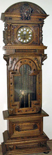 Gazo Rancho Santa Fe - Oak - Antique Clocks Guy