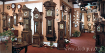 "Gazo Retail Dealer ""The TimePeace"" - La Jolla CA ~ Antique Clocks Guy"