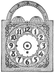 "Original Catalogue Drawing - click to enlarge -  Seth Thomas ""Chime No. 2274"" with Sonora Chime Movement ~ Antique Clocks Guy"